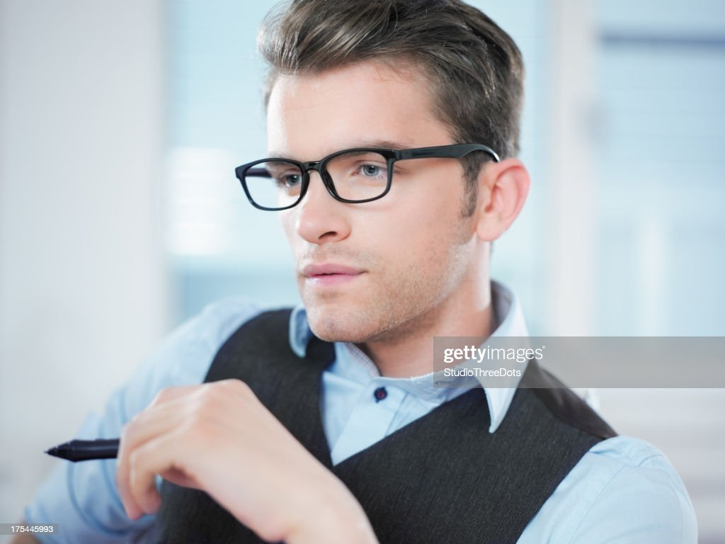 young businessman at the office : Stock Photo