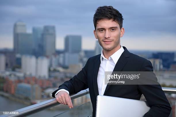 Young Businessman - Portrait