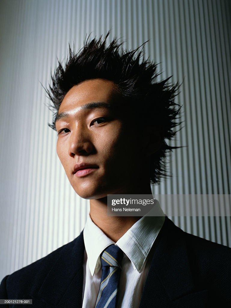Young businessman, portrait : Stock Photo