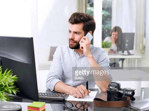 Young businessman portrait : Stock Photo