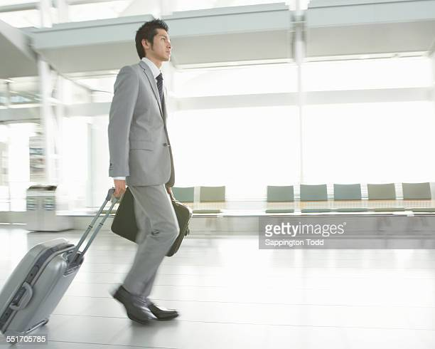 Young Businessman Travelling