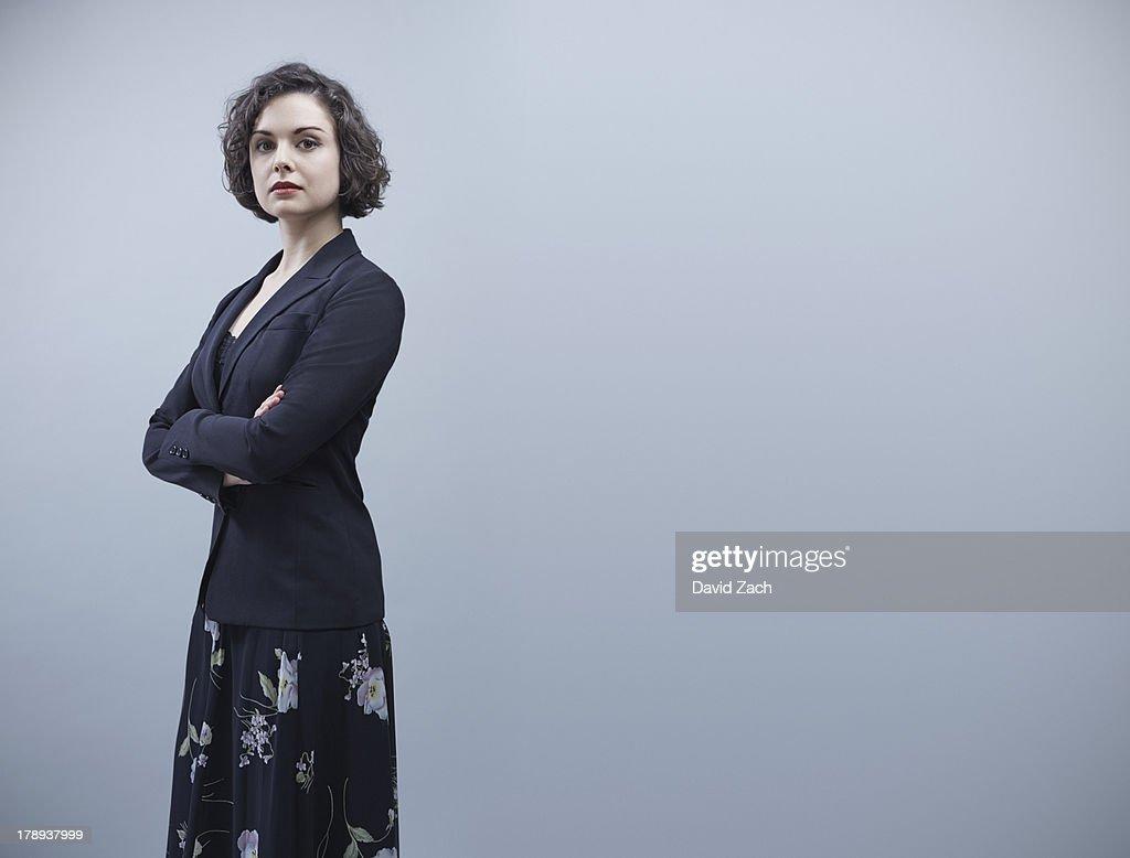 Young businesswoman, portrait : Stock Photo