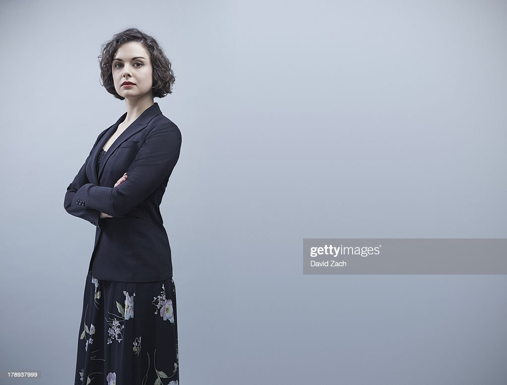 Young businesswoman, portrait