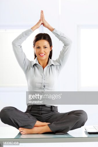 Table pose yoga stock photos and pictures getty images for Table yoga pose