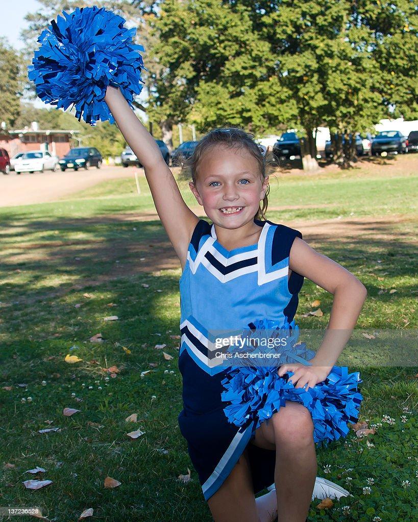 Young Cheerleader : Stock Photo