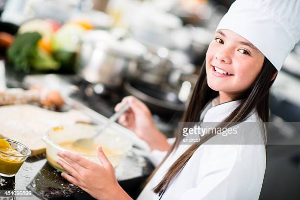 Giovane chef di cucina