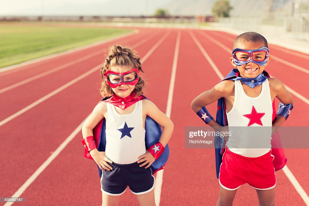 Speed Training Superheroes