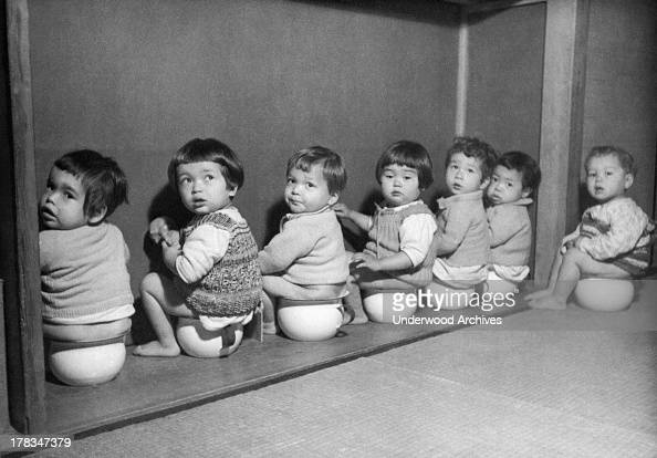 Post-War Japanese Orphanage Pictures   Getty Images