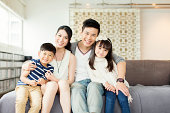 Young Chinese Family