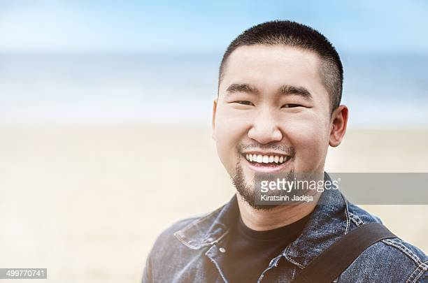 Young Chinese Student Smiling