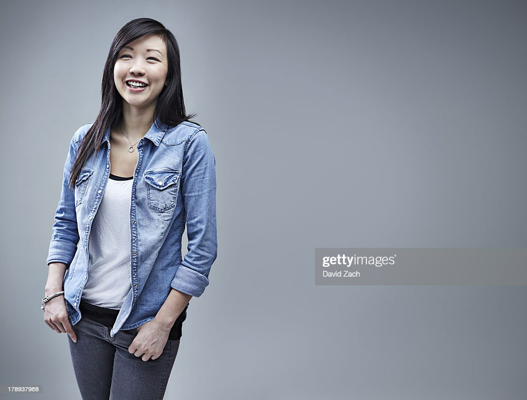 Young Chinese woman, portrait