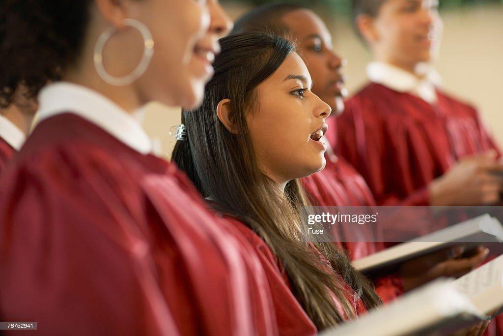 Young Choir Members