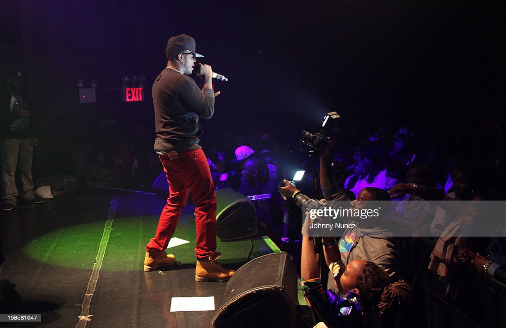 Young Chris performs at the Roc-A-Fella Reunion at Gramercy Theatre on December 19, 2012 in New York City.