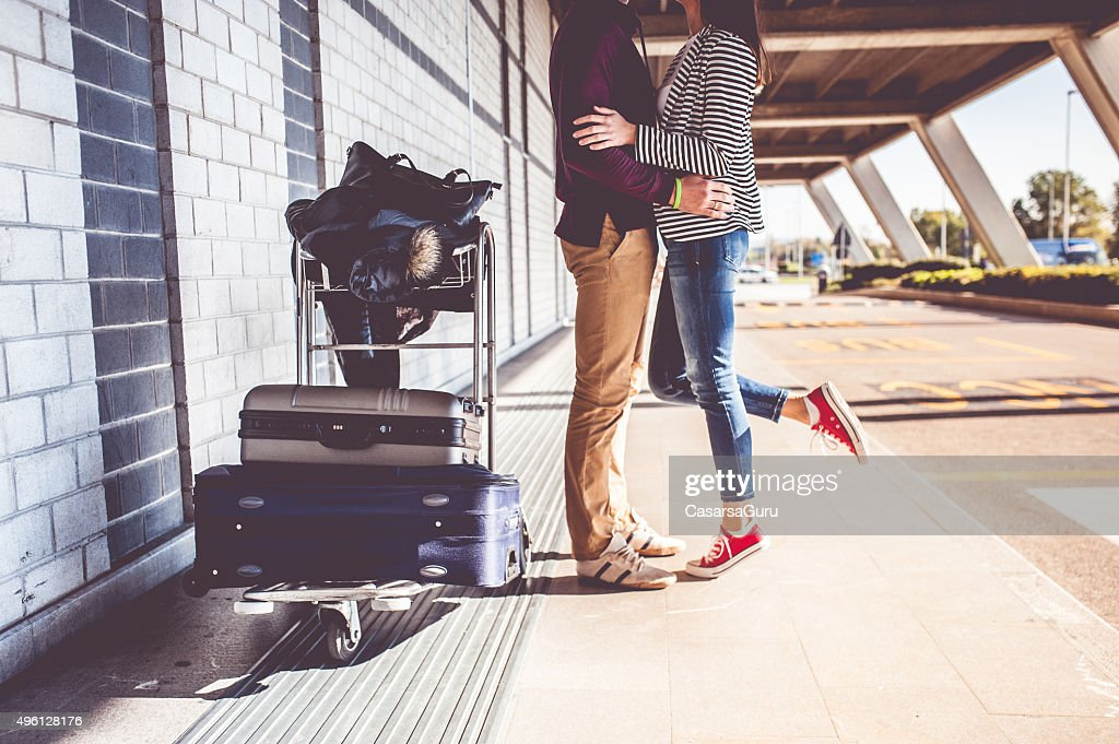 Young Couple Exploring the City : Stock Photo