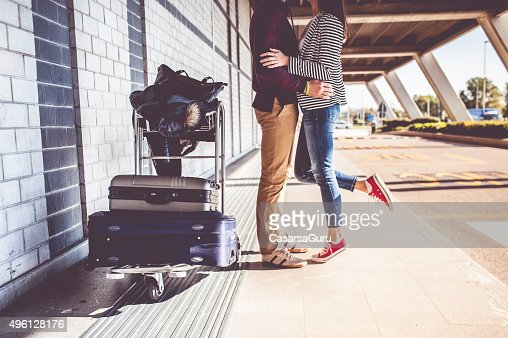 Young Couple Exploring the City