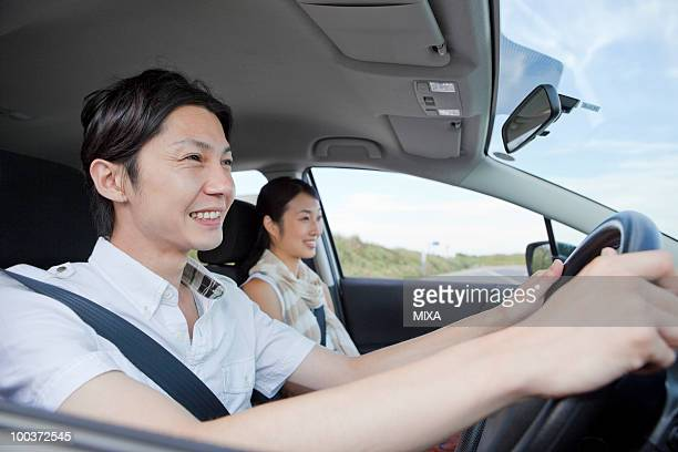 Young Couple Going for a Drive