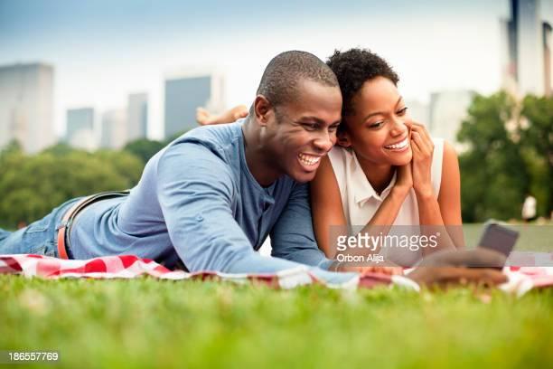 Junges Paar im Central Park