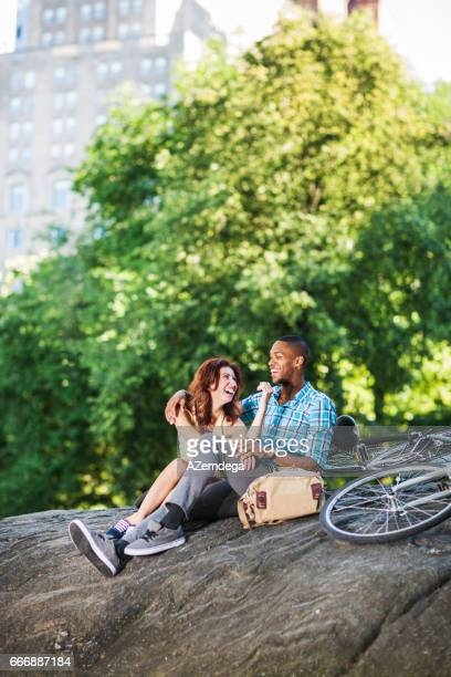 Young couple in Central Park