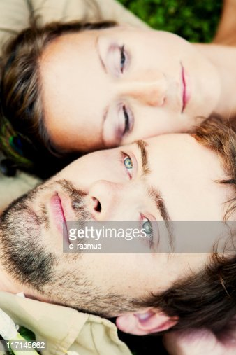 Young couple in love : Stock Photo