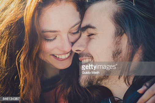 Young couple in love. : Stock Photo