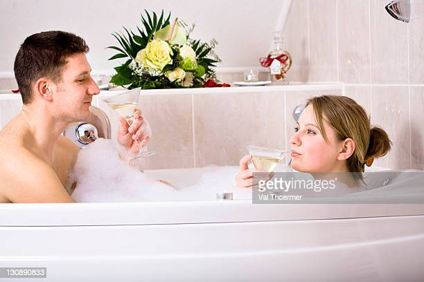 Romantic Bubble Bath Stock Photos and Pictures | Getty Images