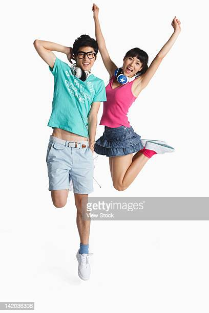 Young couple in vitality