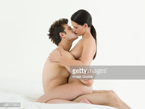 Young couple making love : Stock Photo