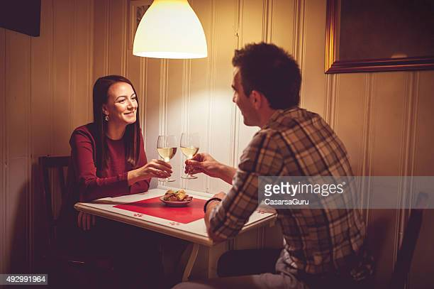 Young Couple on a Date