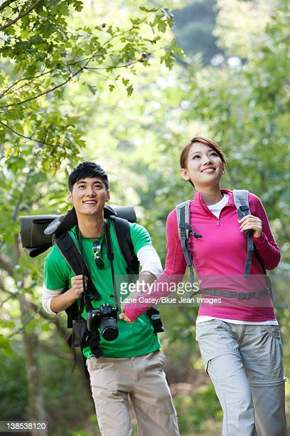 Young Couple On Hike