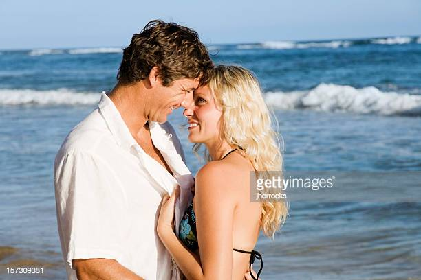 Junges Paar im Urlaub
