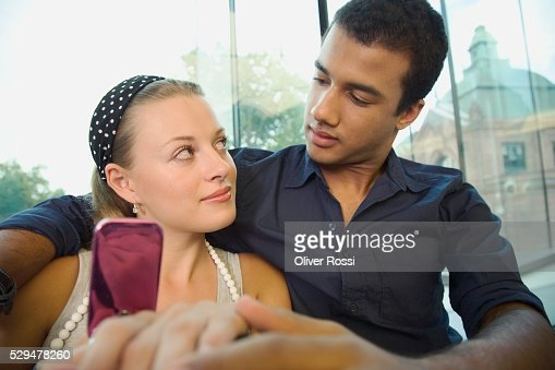 Young couple : Stockfoto
