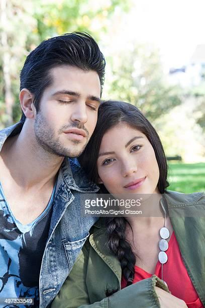 Young couple, portrait