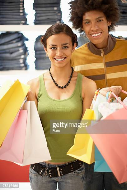 Young Couple Shopping