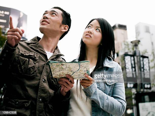 Young Couple Sightseeing