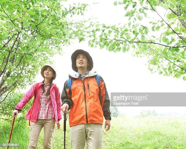 Young Couple Trekking