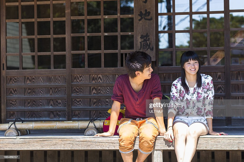 young couple who talks