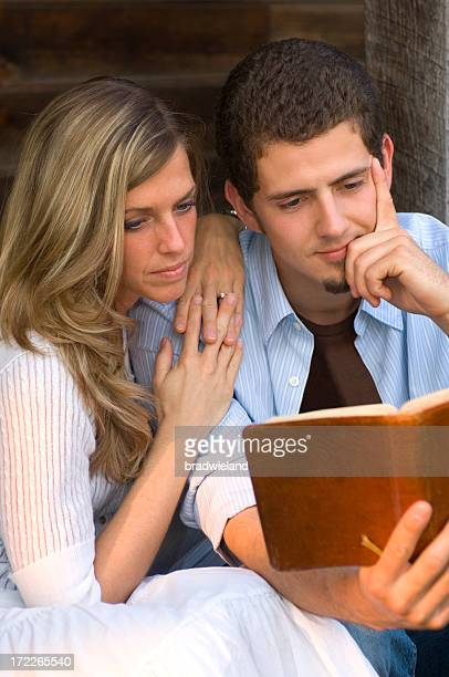 Young Couple with Bible