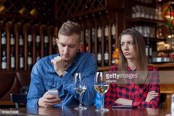 Jeune couple avec problème
