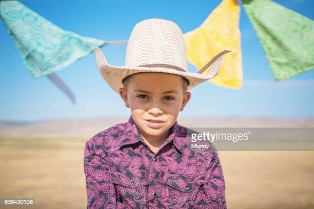 Young Cowboy Utah Real People Portrait