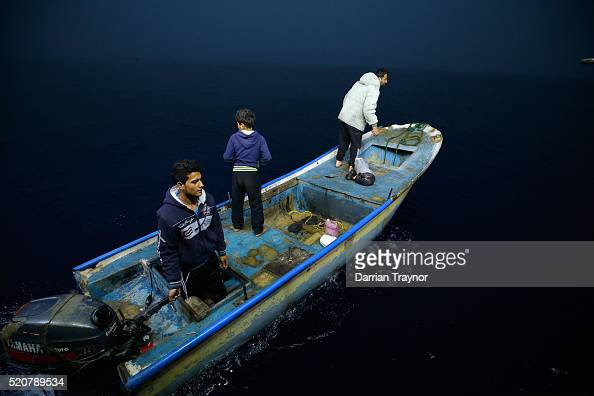 Young crew members prepare a secondary boat on April 9 2016 in Gaza City Gaza In early April Israel expanded the area Palestinians are allowed to...
