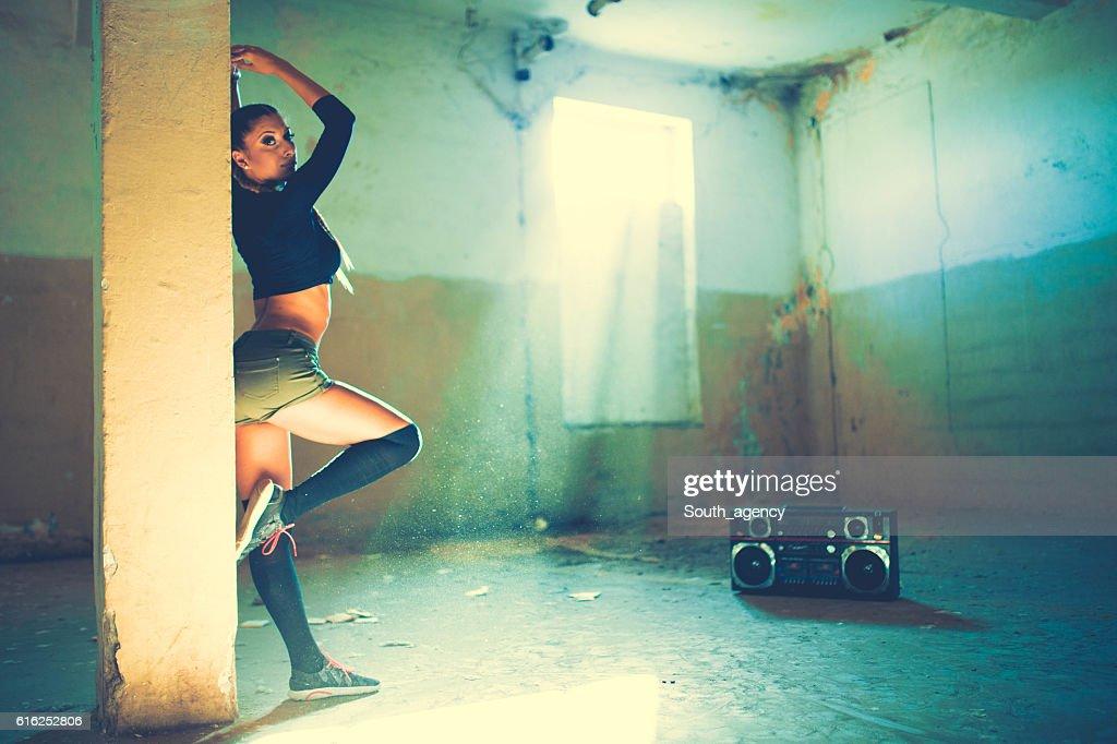 Jungen Tanzen Mädchen : Stock-Foto