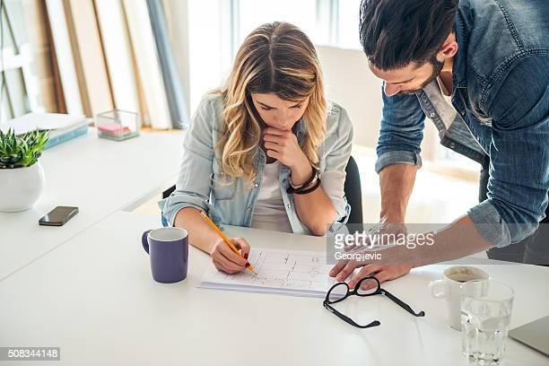 Junge Designer in Aktion