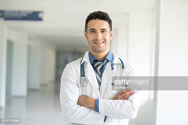 Young doctor at the hospital