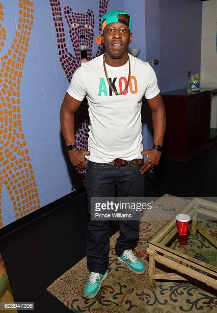 Young Dro backstage at the PartyNextDoor and Jeremih Summer's Over Tour at The Tabernacle on November 14 2016 in Atlanta Georgia