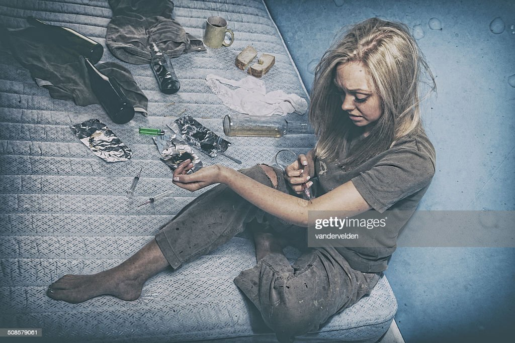 Young Drug Addict : Stockfoto
