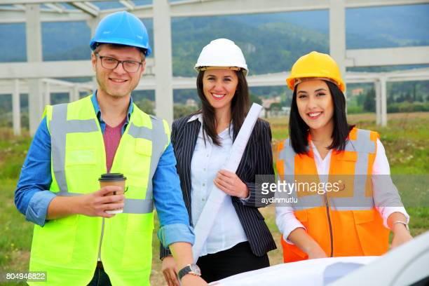 Chantier de jeunes ingénieurs