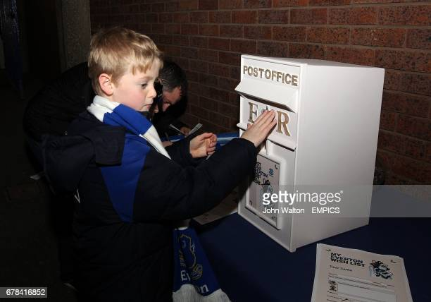 A young Everton fan posts his Everton wishlist