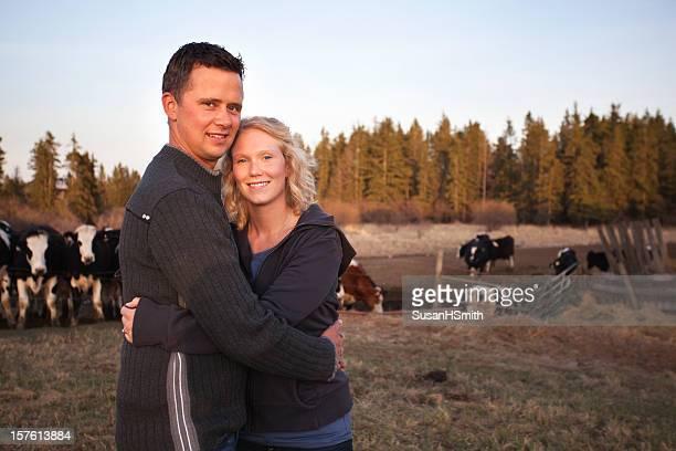 Les jeunes agriculteurs à bétail