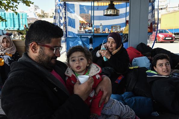 Refugee in Greece