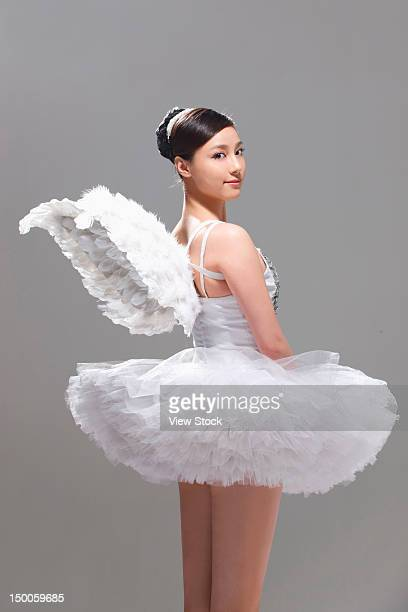 Young female ballerina